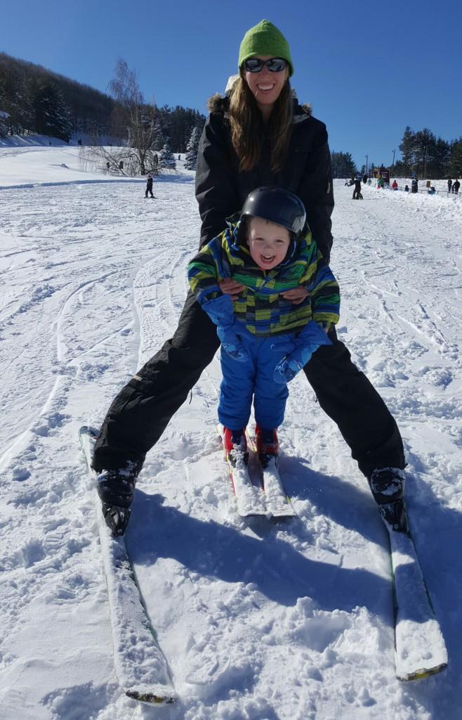 Skiing-Deep Creek Lake
