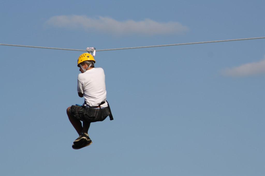 Wisp Resort's Flying Squirrel Canopy Tour-Deep Creek Lake