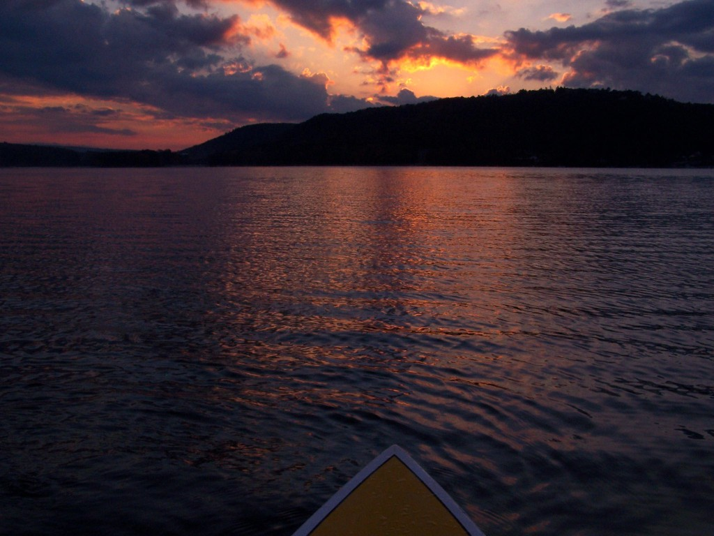 Locals Cup Sunset Paddleboard Race Deep Creek Lake