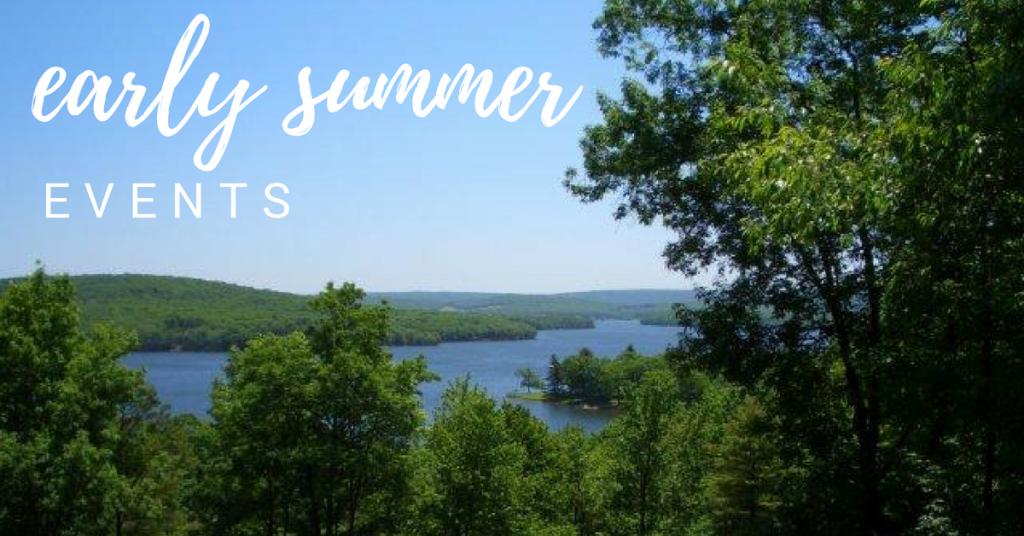 early summer deep creek lake events