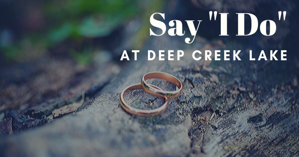 deep creek lake wedding