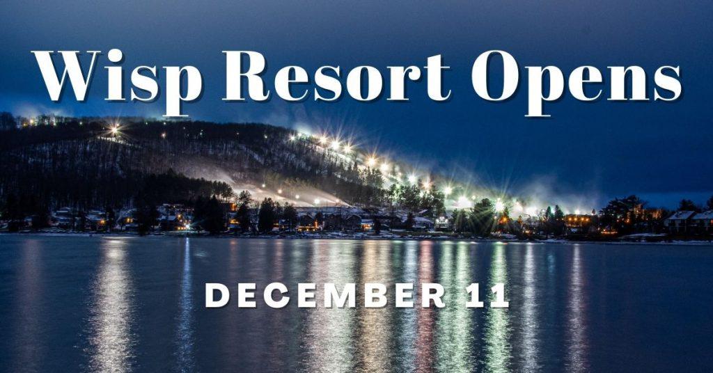 Wisp Resort Opens Up December 11